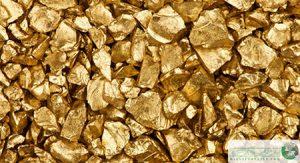 استخراج طلا از سنگ و خاک