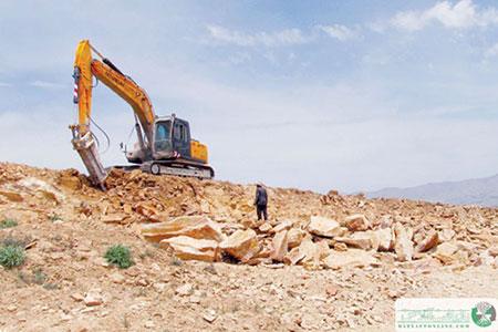 استخراج پلاتین از سنگ معدن