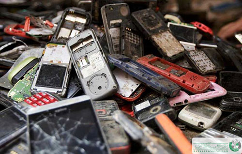 ضایعات موبایل