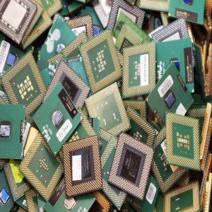 استخراج طلا از ضایعات موبایل