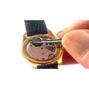 استخراج نقره ای باتری ساعت