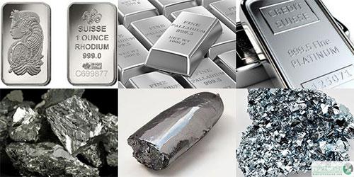 فلزات گروه پلاتین