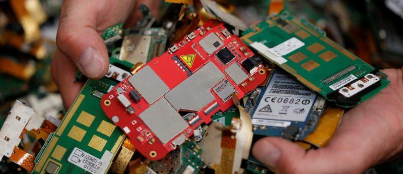 بازیافت آنلاین ضایعات الکترونیکی