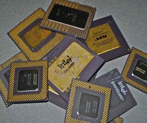 ضایعات الکترونیکی پردازنده های CPU